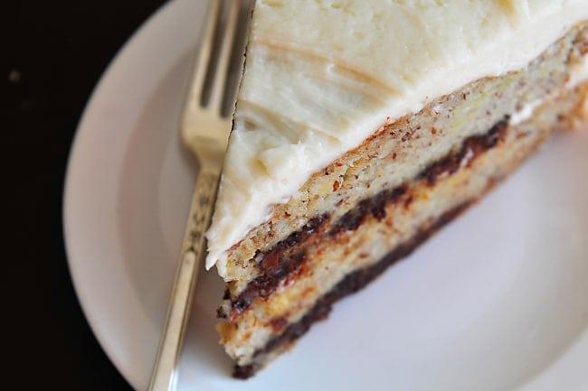 Gluten-Free Chocolate Chip Banana Cake