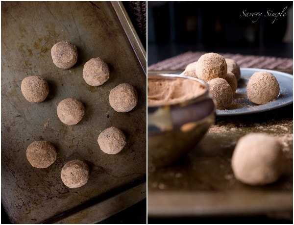 Chocolate Malt Truffles ~ @SavorySimple #recipe