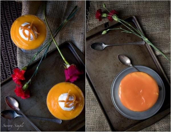 Clementine Curd Cheesecake Parfait ~ www.savorysimple.net ~ Savory Simple