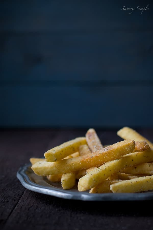 You don't want to miss these addicting buttermilk ranch french fries, which can be prepared entirely from scratch or using frozen, pre-cut fries!