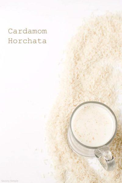 cardamom-horchata