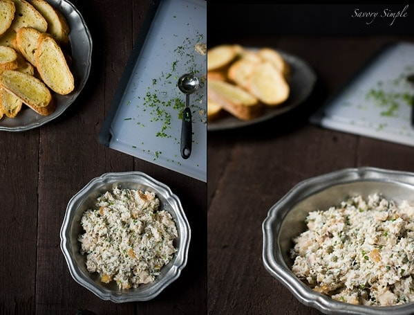 Smoked Trout Dip ~ Savory Simple ~ www.savorysimple.net