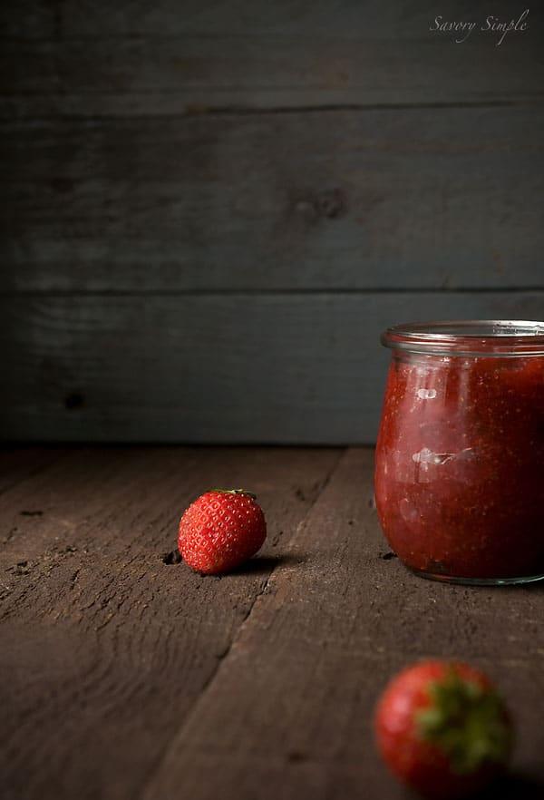 Spicy Strawberry Jam Recipe ~ Savory Simple