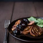 duck-breast-with-seared-foie-gras-and-balsamic-cherries