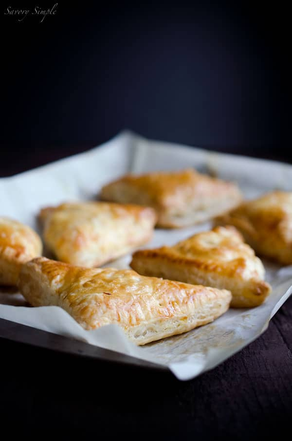 Apple, Sweet Potato and Bacon Turnovers - Savory Simple