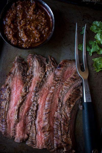 salsa-flank-steak