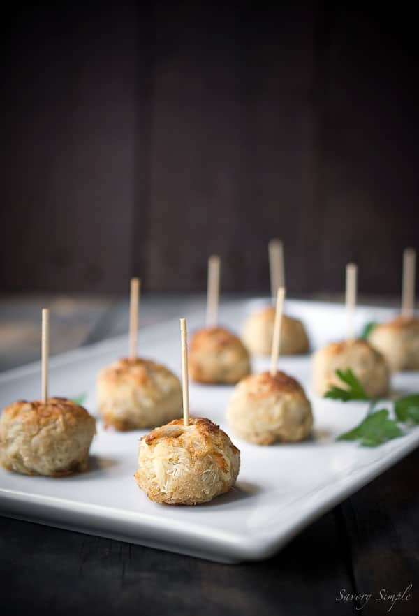 Jumbo Lump Crab Cake Bites are a perfect party appetizer!