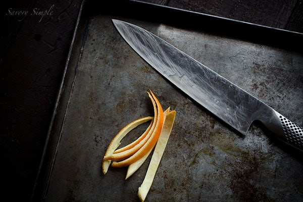 Candied Orange Peel on Food52 - a step by step guide