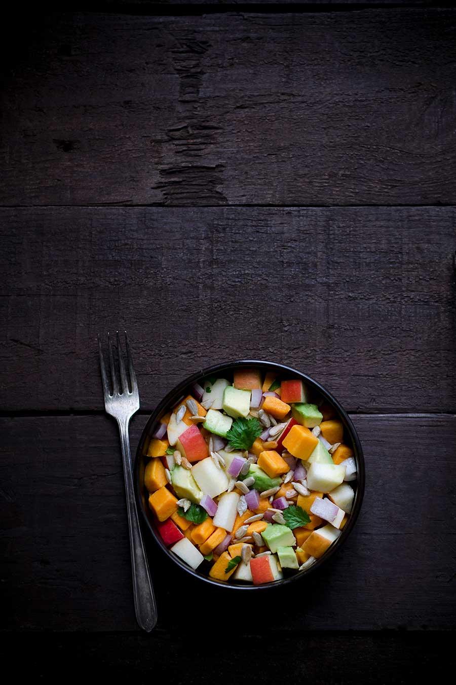Sweet Potato Avocado Salad Recipe in a Bowl