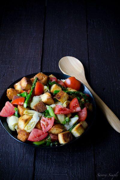 Spring-Panzanella-Salad