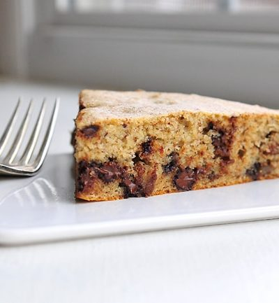 Gluten-Free Chocolate Chip Banana Cake