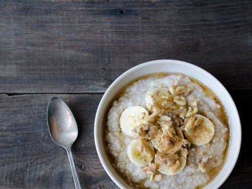 Banana Millet Breakfast Porridge - Savory Simple