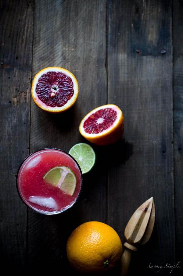 This Blood Orange Gin and Tonic recipe is sweet, vibrant, and citrusy! Good quality brands can make a huge difference in your gin and tonic, so I've included my recommendations for which ones to use in this drink.