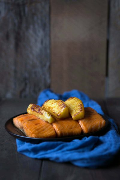 Savory-Simple-Recipe-Honey-Soy-Glazed-Salmon-with-Pineapple