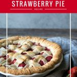 There's no better way to celebrate strawberry season than with this sweet strawberry pie! It's a spring and summertime favorite around here.This strawberry pie recipe is simple to make and is wonderful served on its own or topped with a dollop of freshly whipped cream!