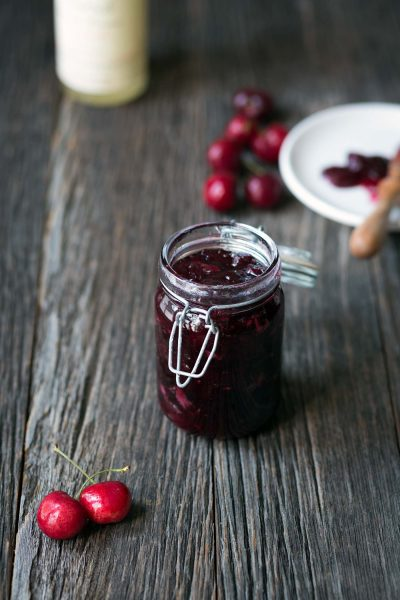 Savory-Simple-Recipe-Brandied-Cherry-Jam