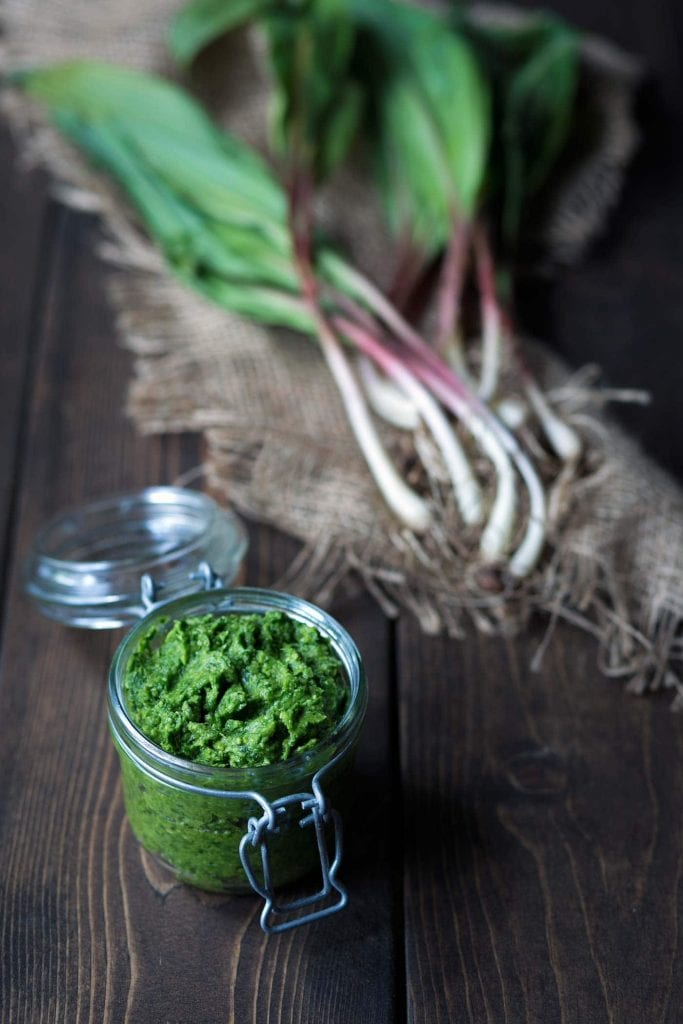 Ramp pesto photo