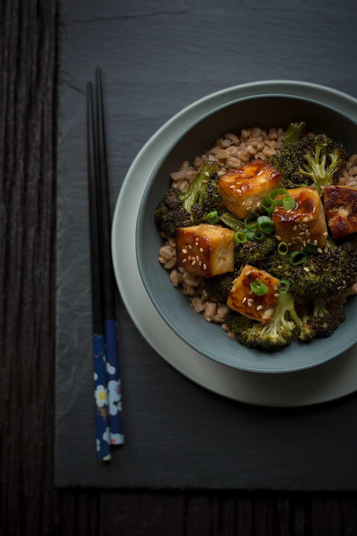 Crispy Baked Tofu With Broccoli Recipe Savory Simple