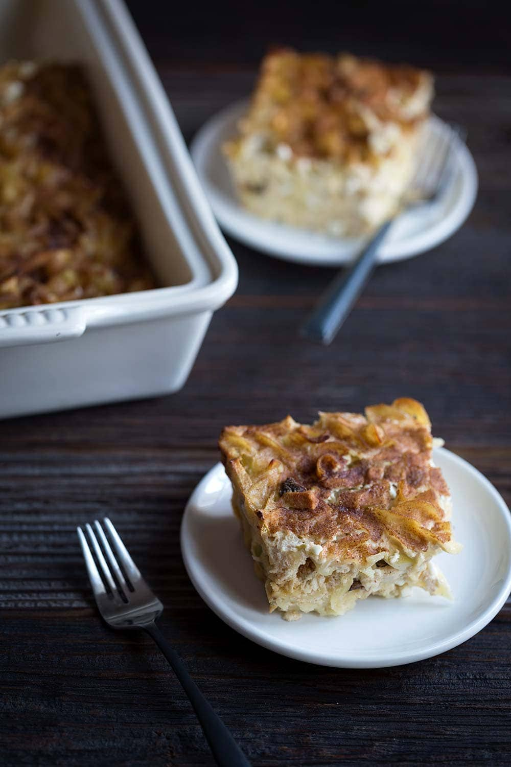 APPLE NOODLE KUGEL HANUKKAH RECIPE SAVORY SIMPLE