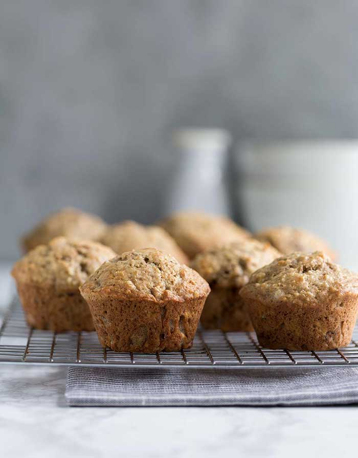 Banana Bread Muffins Recipe Fast Easy Savory Simple
