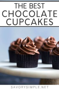 The Best Chocolate Cupcakes Collage