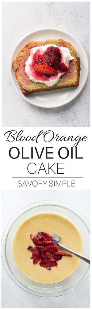 This soft, flavorful Blood Orange Olive Oil Cake is a show stopper! Even better, no stand mixer is required! Regular oranges can easily be substituted.
