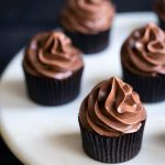 Sexy chocolate cupcakes that are perfect for Valentine's Day.