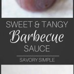 Ditch the bottled stuff and try this incredibly easy Sweet and Tangy Barbecue Sauce, ready after just 15 minutes of simmering! It tastes just like Open Pit BBQ Sauce, and is amazing served with chicken.
