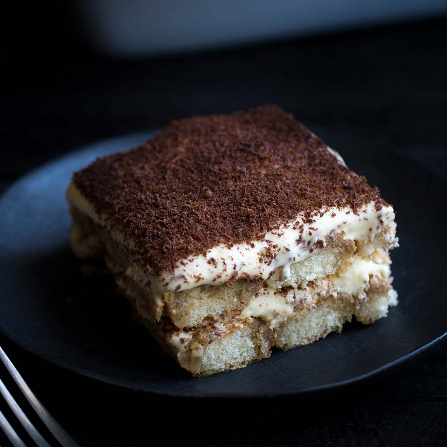 Tiramisu - Classically prepared but with cooked egg yolks instead ...