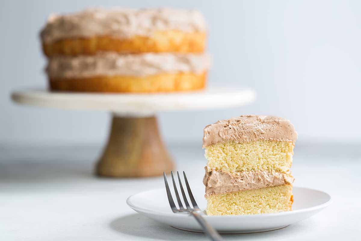 The Best Yellow Cake Recipe From Scratch Savory Simple