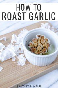 Roasted garlic photo