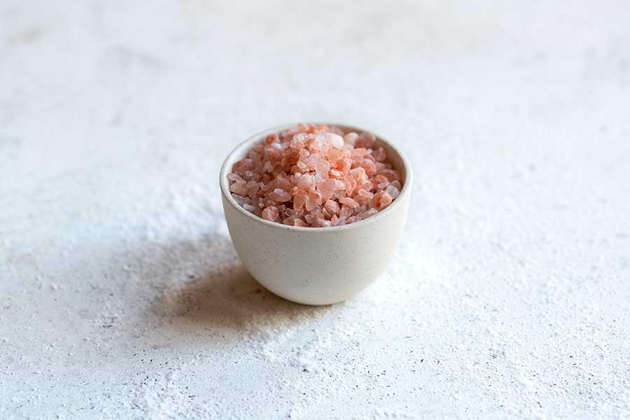 Himalayan Salt in a bowl