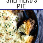 Shepherd's Pie photo with text overlay