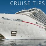 """cruise ship with text overlay """"my top 10 carnival cruise tips"""""""