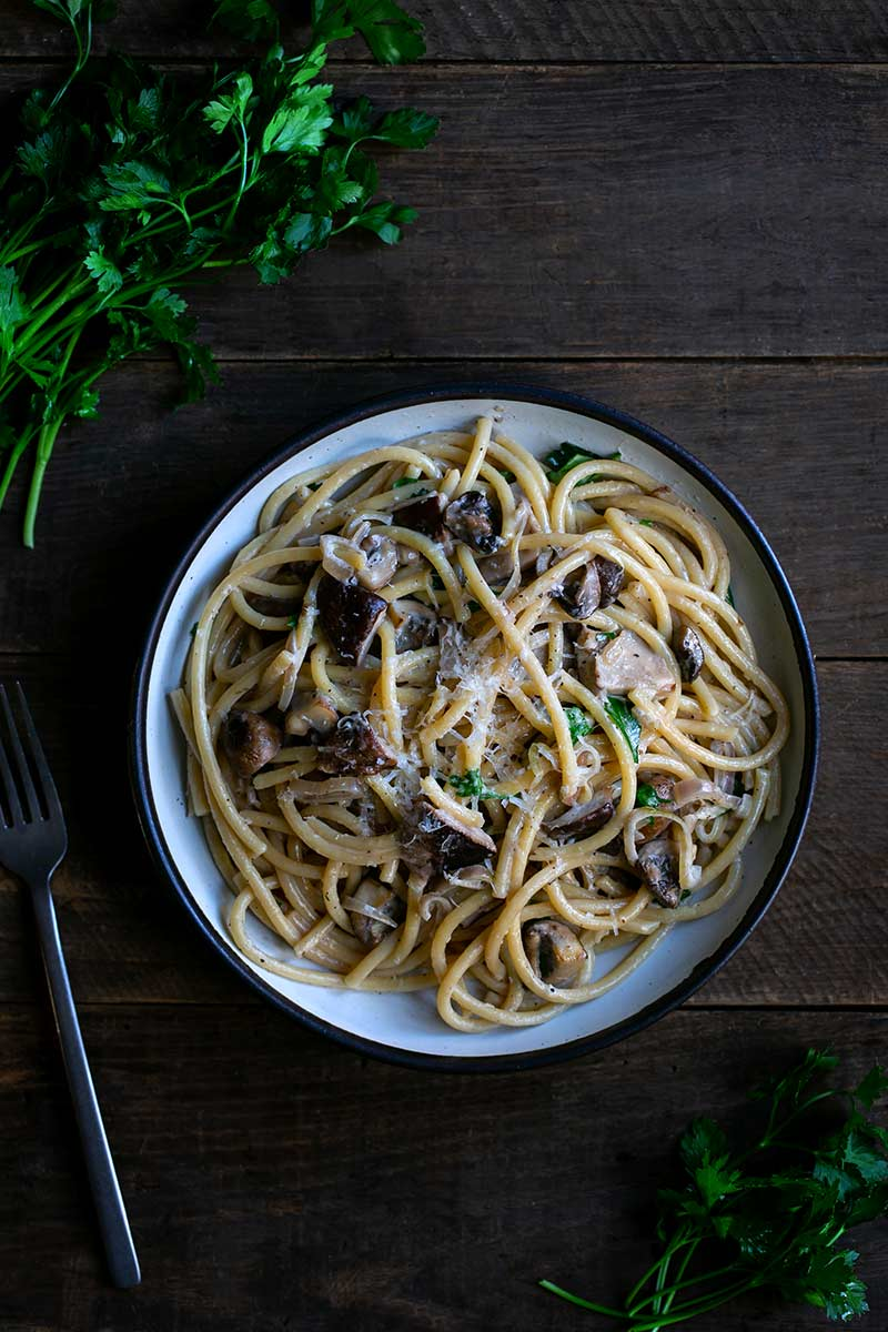 The Best Mushroom Pasta Recipe Savory Simple