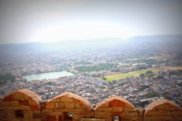 Jaipur City from Jaigarh Fort, Jaipur