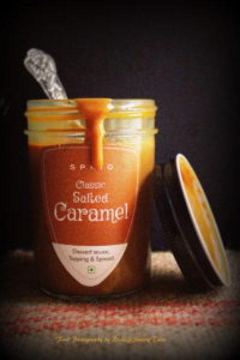 Sprig Salted Caramel Sauce
