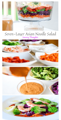 Asian Noodle Salad With Creamy Peanut Sauce