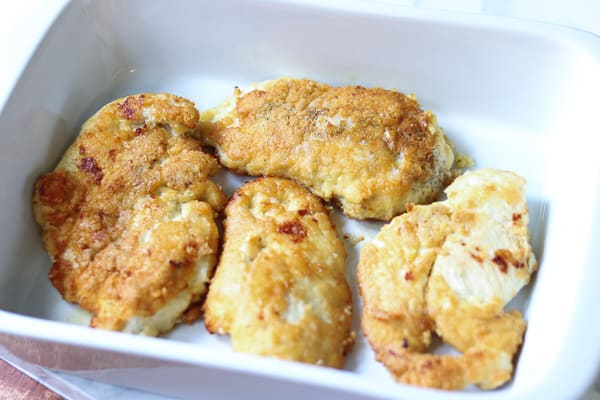 Parmesan Chicken Recipe