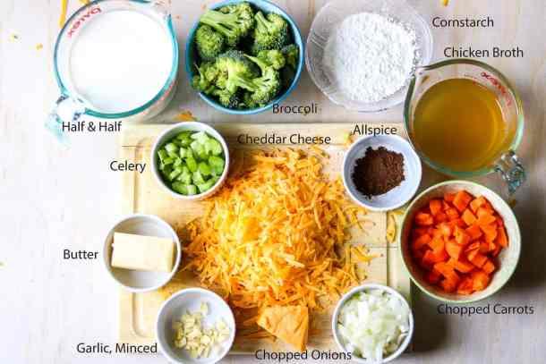 Panera Bread Broccoli Cheddar Soup Copycat - savory thoughts