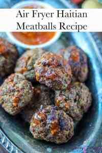 Haitian Meatballs Recipe Pintest Pin