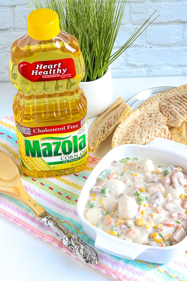 Easy Seafood Sipo Eggs with Mazola Corn Oil