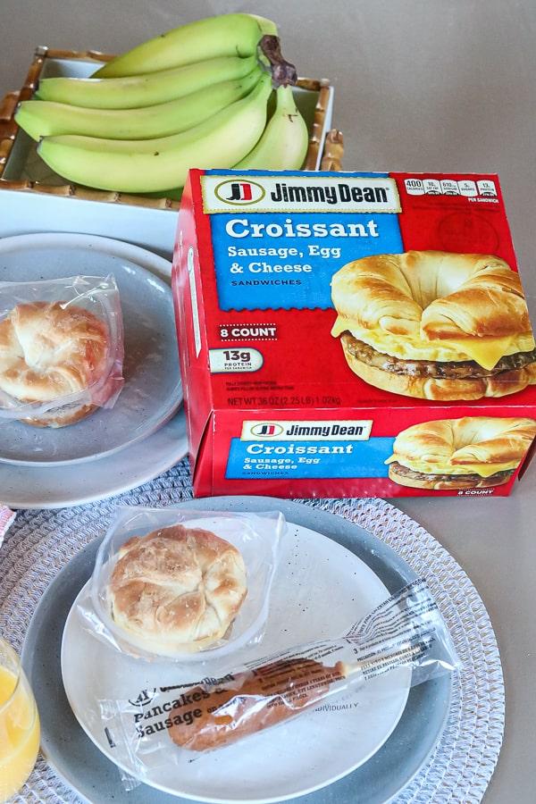 packaged jimmy dean breakfast on the go