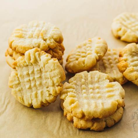 Low carb butter cookies using almond flour