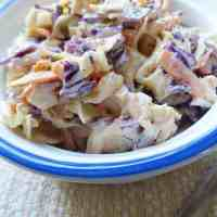 Creamy Coleslaw Recipe (Classic Southern Style)