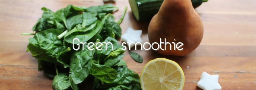 cover recette de green smoothie