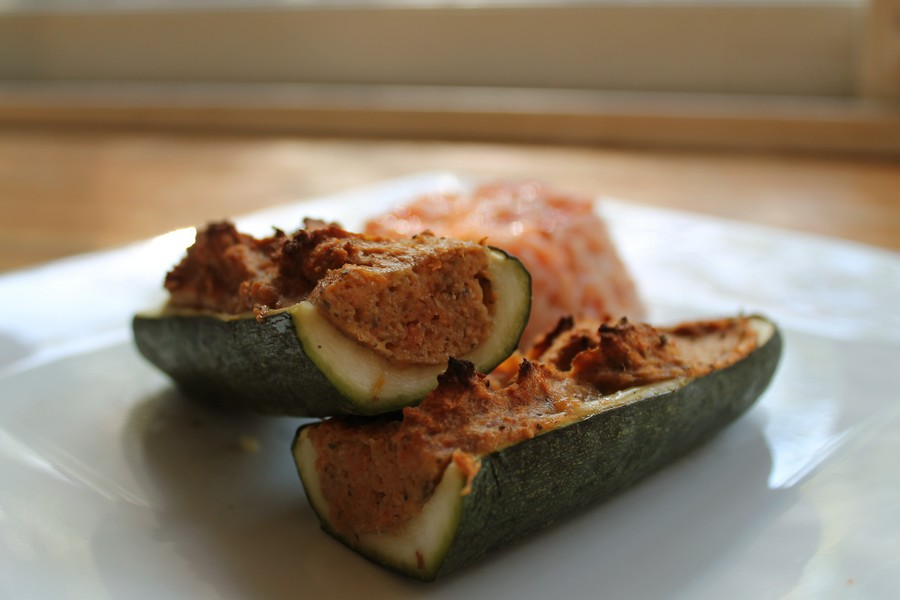 courgettes farcies vegan