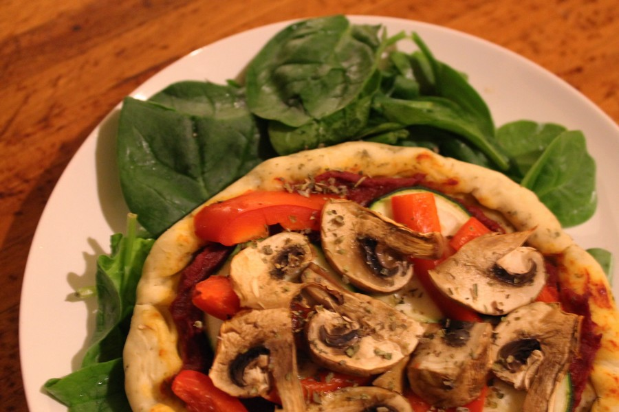 pizza vegan maison