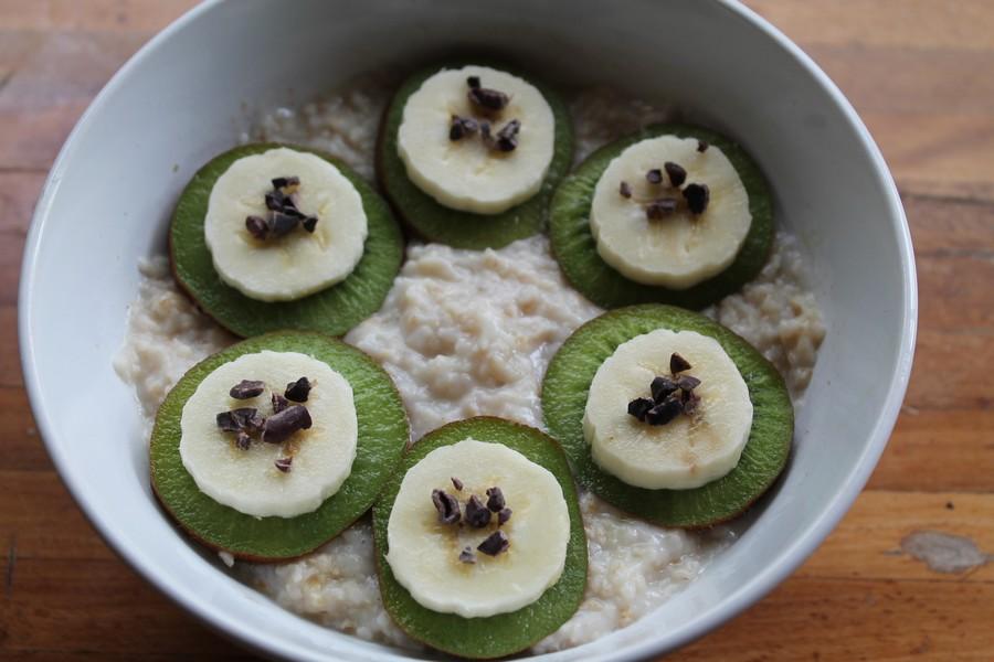 porridge recette toppings oatmeal