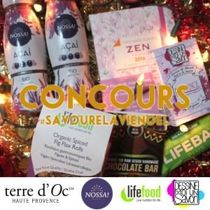 Concours de Noël sur le blog www.savourelavie.com !